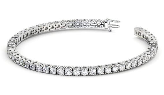 Bespoke diamond bracelet