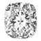 Cushion shaped diamond
