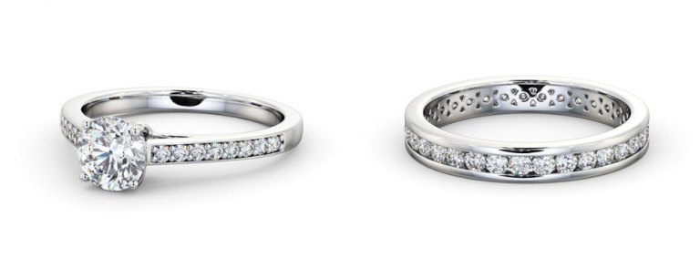 How to find the perfect wedding band to match your engagement ring